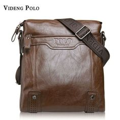 VIDENG POLO Men Bag Brand Classic Leather Casual Crossbody Shoulder Bag  Business   eBay 9b20b4d17f