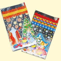 """SHOP-PARADISE.COM:  Geschenktüten Set """"Weihnachtsmann"""", 100 Stck, gemischt, 22,5ch39,5 cm 37,81 €"""