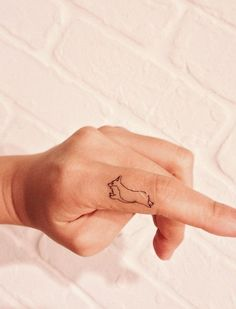 There are some ideas for Corgi lovers: Xoil Tattoos, Forearm Tattoos, Cute Tattoos, Black Tattoos, Tatoos, Traditional Tattoo Forearm, Traditional Tattoos, Corgi Tattoo, Tattoo Removal Cost