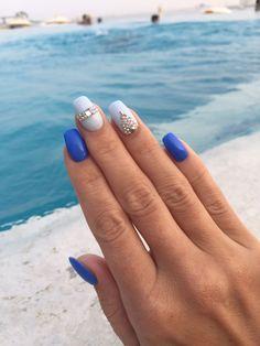 Идеи для маникюра на отдых. Маникюр на море. Nail design
