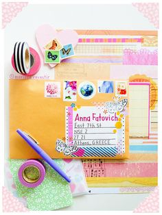 happy mail project - pretty snail mail