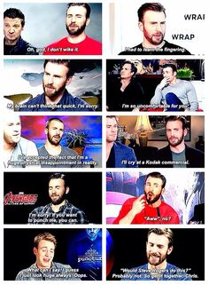 Chris Evans is amazing