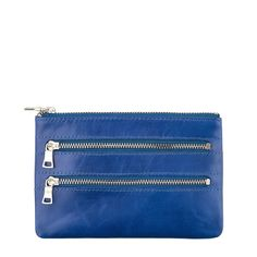 STATUS ANXIETY MOLLY WALLET IN ROYAL BLUE