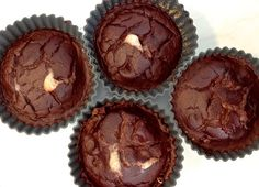 Chocolate Apricot Muffins (includes cauliflower and protein powder)