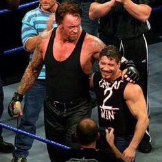 Undertaker  and Eddie Guerrero