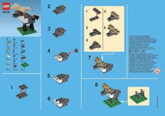 Mini Brick Spot - various lego instructions