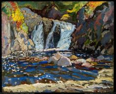 J. E. H. MacDonald, The Little Falls 1918