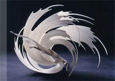 Gallery of the porcelain art that Paula Bastiaansen made. Art Sculpture, Abstract Sculpture, Porcelain Ceramics, Ceramic Pottery, Fine Porcelain, Chandelier Art, Industrial Design Sketch, Artistic Installation, Paperclay