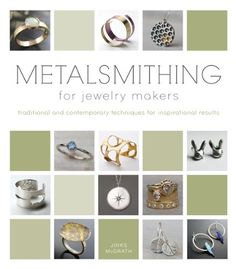 Metalsmithing for Jewelry Makers is the ultimate reference for anyone interested in creating metal jewelry. Using clear, step-by-step instructions, interviews from experts in the craft, and hundreds of photos showcasing contemporary work, the author provides one of the most comprehensive volumes on metal jewelry making available.
