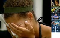 Monet cries after a big fight in the house