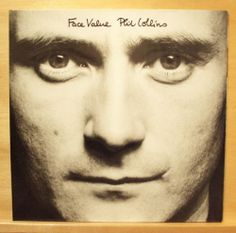 PHIL COLLINS - Face Value mint minus Vinyl LP In the Air tonight I missed again