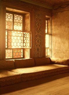 The Harem at Topkapi Palace, Istanbul, Turkey