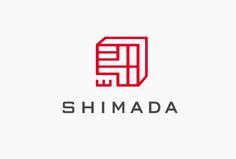 Shimida Corporation Branding by Masaomi Fujita - corporate branding design Corporate Branding, Corporate Logo Design, Logo Branding, Branding Design, Ci Design, Type Design, Typography Design, Layout Design, Japan Logo