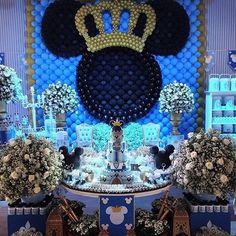 20 Mejores Imagenes De Mickey Rey Blue Prince Birthday Party