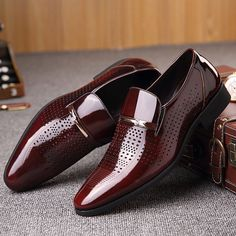 new style a0dd0 e4e77 crocodile-pattern-shoes ONLY FOR YOU 32890 - NEWCHIC Mobile Formal Shoes  For Men