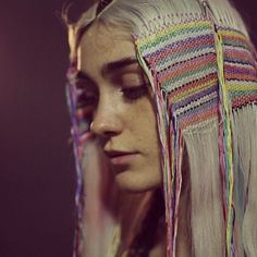 Festival hair inspiration - Hair Tapestry by @Tiffanydecaux @borisboriswho @boristhecuttery #festivalhair #hair #hairtapestry