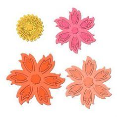 Spellbinders Shapeabilites Aster Flower Topper S5-102