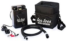 Ten Toes Boards Emporium iSUP Electric Pump for Stand-Up Paddleboard, Black Toe Board, Paddle Boarding, Stand Up, Electric, Boards, Pumps, Amazon, Car, Sports