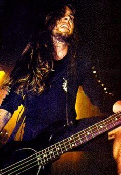 A straight-up awesome bassist, Rex Brown