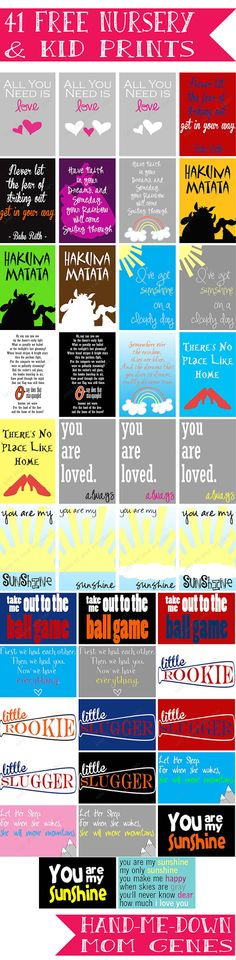 iShare's Favorite Summer Printables | How Does She