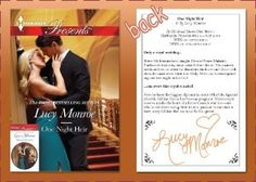 October News from Lucy Monroe