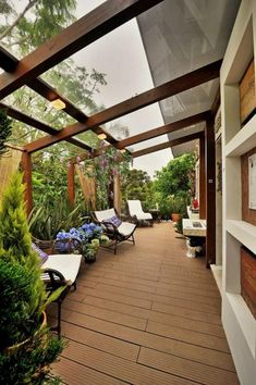 Eine Kleine Überdachte Terrasse Ideen 4 Even though historical around thought, a pergola has become Patio Roof, Backyard Patio, Backyard Landscaping, Pergola Patio, Cheap Pergola, Landscaping Ideas, Sunken Patio, Paving Ideas, Patio Decks
