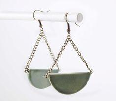TRhand Handmade Jewelry: ceramic earings
