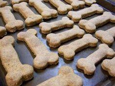 Galleta de avena para perros