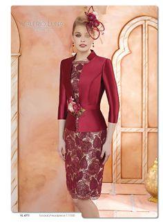 Vestidos de fiesta corto de dos piezas con abrigo de manga francesa ... fc7a4be73395