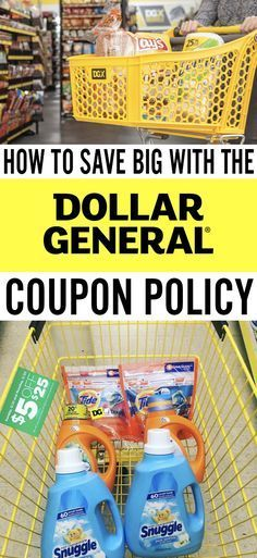 Save big on groceries with the Dollar General coupon policy!