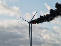October 29, 2013:  A fire broke out at the top of a 67-meter high wind turbine in Holland. Unfortunately, two engineers, just 19 and 21 years old, were trapped at the top. This photo shows them embracing as they await their tragic deaths. Two of their coworkers managed to survive the disaster.