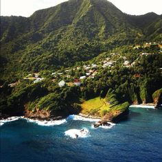 Coastal area... Dominica