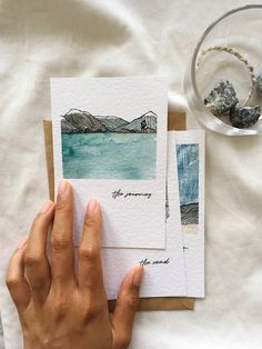 Watercolor Sketch, Watercolor Cards, Watercolor Paintings, Bullet Journal Art, Doodle Drawings, Diy Art, Collage Art, Art Inspo, Art Sketches