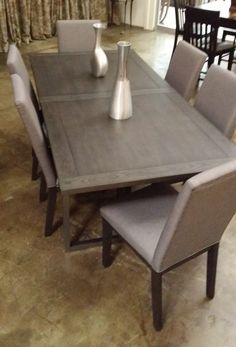 Dining Room choices abound from the Home Elegance/World Market Center liquidation we just completed!