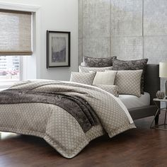 The Paragon Luxury Comforter Set from the Michael Amini Bedding Collection