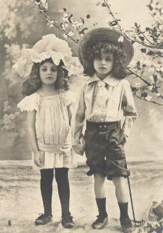 Antique Photos Edwardian / Victorian Children Pkg16 - 200 Images