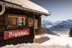 Der Rigi-Panoramaweg im Winter - als nuff!