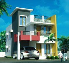 Peg Duplex House, House Elevation, Future House, Ideas Para, Houses, House Design, Mansions, Interior Design, Design Bedroom