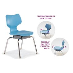 Flavors™ Noodle Chair has a patented suspension that allows it to move with the student. It provides all the benefits of sitting in a large ball , but with added stability and back support. It is perfect for the fidgety student. Available in 18 colors. New Classroom, Classroom Design, Airstream Decor, 21st Century Learning, Learning Spaces, Projects For Kids, Noodles, Kids Room