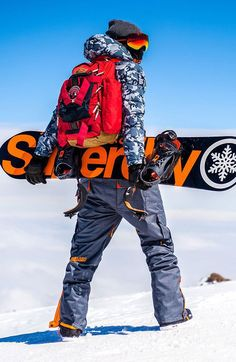 Mens Skiwear Shop Ski Jackets for Men Online Superdry Snow Snowboarding Style, Ski And Snowboard, Mens Ski Clothes, Mode Au Ski, Mens Ski Wear, Sport Model, Pantalon Ski, Mens Skis, Ski Gear