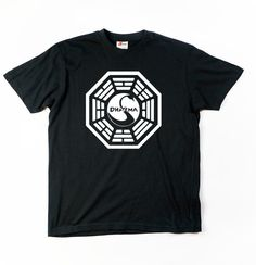 Dharma Initiative unisex adult black gray or white by VeryRadTribe 12€