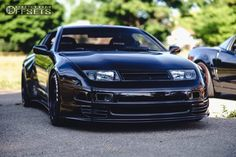 This 1990 Nissan RWD is running Work Meister 22 wheels Pirelli Pzero tires with AMS Öhlins Coilovers suspension. Tuner Cars, Jdm Cars, Nissan Z Cars, Nissan 300zx, Street Racing Cars, Alfa Romeo Cars, Bmw Series, Car Goals, Audi Tt