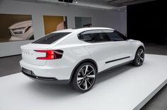 3/4 arrière Concept Volvo 40.2