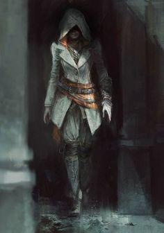 Gamer addictions | Assassins creed | female version, thief | fantasy character design |