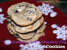 Double the Deliciousness: Cranberry White Chocolate Chip Cookies