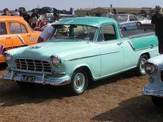 A picture 1958 Holden Ute