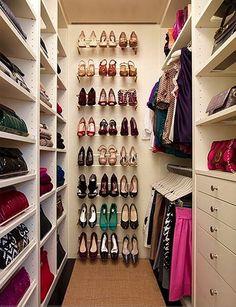 20c8df170 closet shoe storage Projeto De Closet Pequeno, Quarto Extra, Guardar  Sapatos, Projetos De