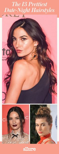 These date-night hairstyles—romantic waves, shiny blowouts, and sexy tousled curls—offer the most flattering ways to look hot when you head out. Night Out Hairstyles, Date Hairstyles, Romantic Hairstyles, Braided Hairstyles, First Date Hair, Date Night Hair, Third Date, Blowout Hair, Hair Heaven
