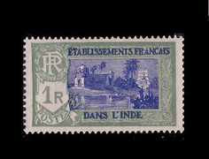 French INDIA 1929 Sc#96