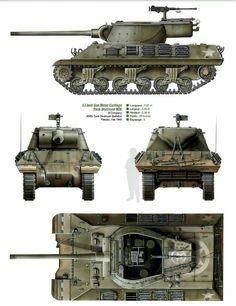 M-36 Tank Destrouer US army 1945